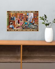 Into The Bookstore I Go 17x11 Poster poster-landscape-17x11-lifestyle-24