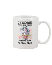 Unicorns Make Me Happy  Mug thumbnail