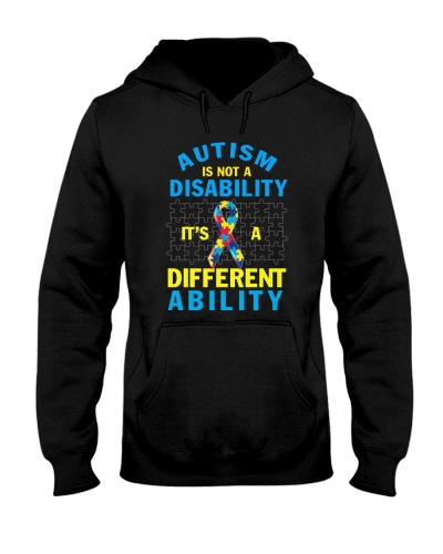 Autism Is Not A Disability