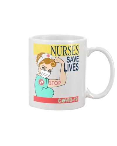 Nurses Save Life Yellow