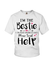 Wine Bestie Youth T-Shirt thumbnail