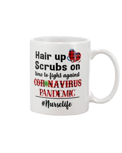 Nurse Hair Up