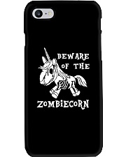 Unicorn-  Bew are of the zombiecorn Phone Case tile