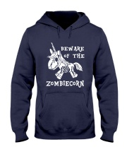 Unicorn-  Bew are of the zombiecorn Hooded Sweatshirt thumbnail
