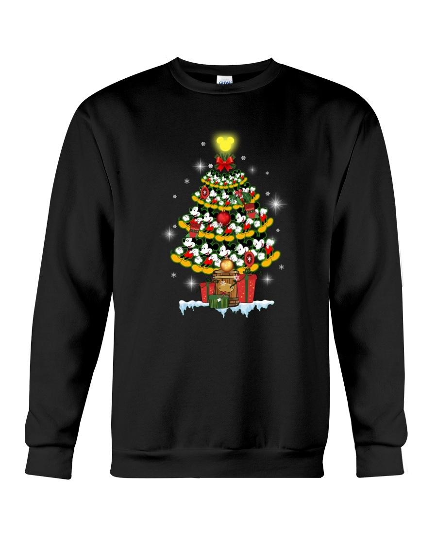 MK Tree Christmas Crewneck Sweatshirt