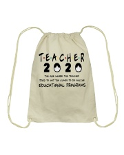 Teacher The One Drawstring Bag thumbnail