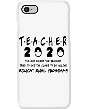 Teacher The One Phone Case tile