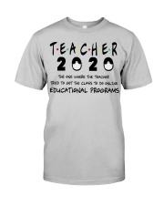 Teacher The One Classic T-Shirt front