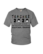 Teacher The One Youth T-Shirt tile
