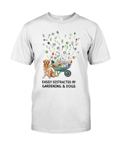 Gardening Easily Distracted By Gardening And Dogs
