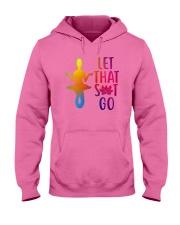 Mermaid - Let That Sit Go Hooded Sweatshirt front