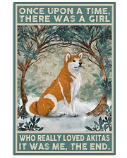 Akita Once Upon A Time 11x17 Poster front