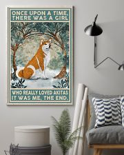 Akita Once Upon A Time 11x17 Poster lifestyle-poster-1