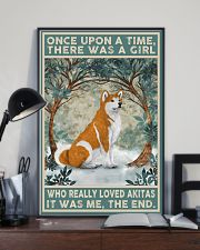 Akita Once Upon A Time 11x17 Poster lifestyle-poster-2