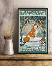 Akita Once Upon A Time 11x17 Poster lifestyle-poster-3