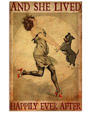 Pit Bull Gray And She Lived Happily Ever After 11x17 Poster front