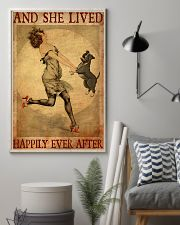 Pit Bull Gray And She Lived Happily Ever After 11x17 Poster lifestyle-poster-1