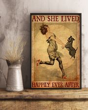 Pit Bull Gray And She Lived Happily Ever After 11x17 Poster lifestyle-poster-3