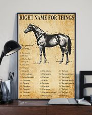 Horse Right Names For  Things 11x17 Poster lifestyle-poster-2