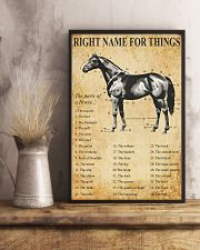 Horse Right Names For  Things 11x17 Poster lifestyle-poster-3