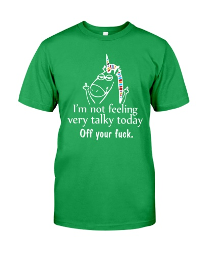Unicorn - I'm Not Feeling Very Talky Today