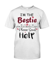 Wine I'm The Bestie Classic T-Shirt thumbnail