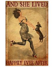 Dachshund And She Lived Happily Ever After 11x17 Poster front