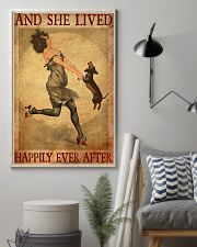 Dachshund And She Lived Happily Ever After 11x17 Poster lifestyle-poster-1