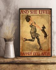 Dachshund And She Lived Happily Ever After 11x17 Poster lifestyle-poster-3