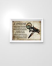 CYCLING I CHOOSE 24x16 Poster poster-landscape-24x16-lifestyle-02