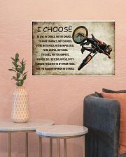 CYCLING I CHOOSE 24x16 Poster poster-landscape-24x16-lifestyle-22