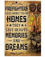 Firefighters Save More Than 11x17 Poster front