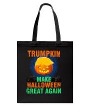 Make Halloween Great Again Tote Bag thumbnail