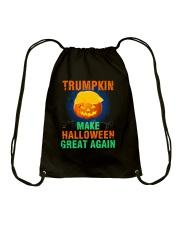 Make Halloween Great Again Drawstring Bag thumbnail