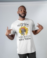 Pit Bull Mom F-Bomb Classic T-Shirt apparel-classic-tshirt-lifestyle-front-32