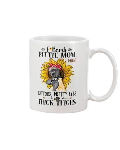 Pit Bull Mom F-Bomb