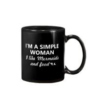 I Like Mermaid and Food Mug thumbnail