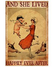 Pig And She Lived Happily Ever After 11x17 Poster front