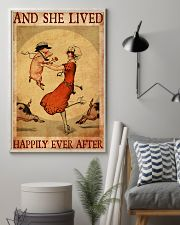 Pig And She Lived Happily Ever After 11x17 Poster lifestyle-poster-1