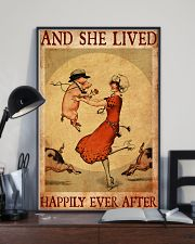 Pig And She Lived Happily Ever After 11x17 Poster lifestyle-poster-2