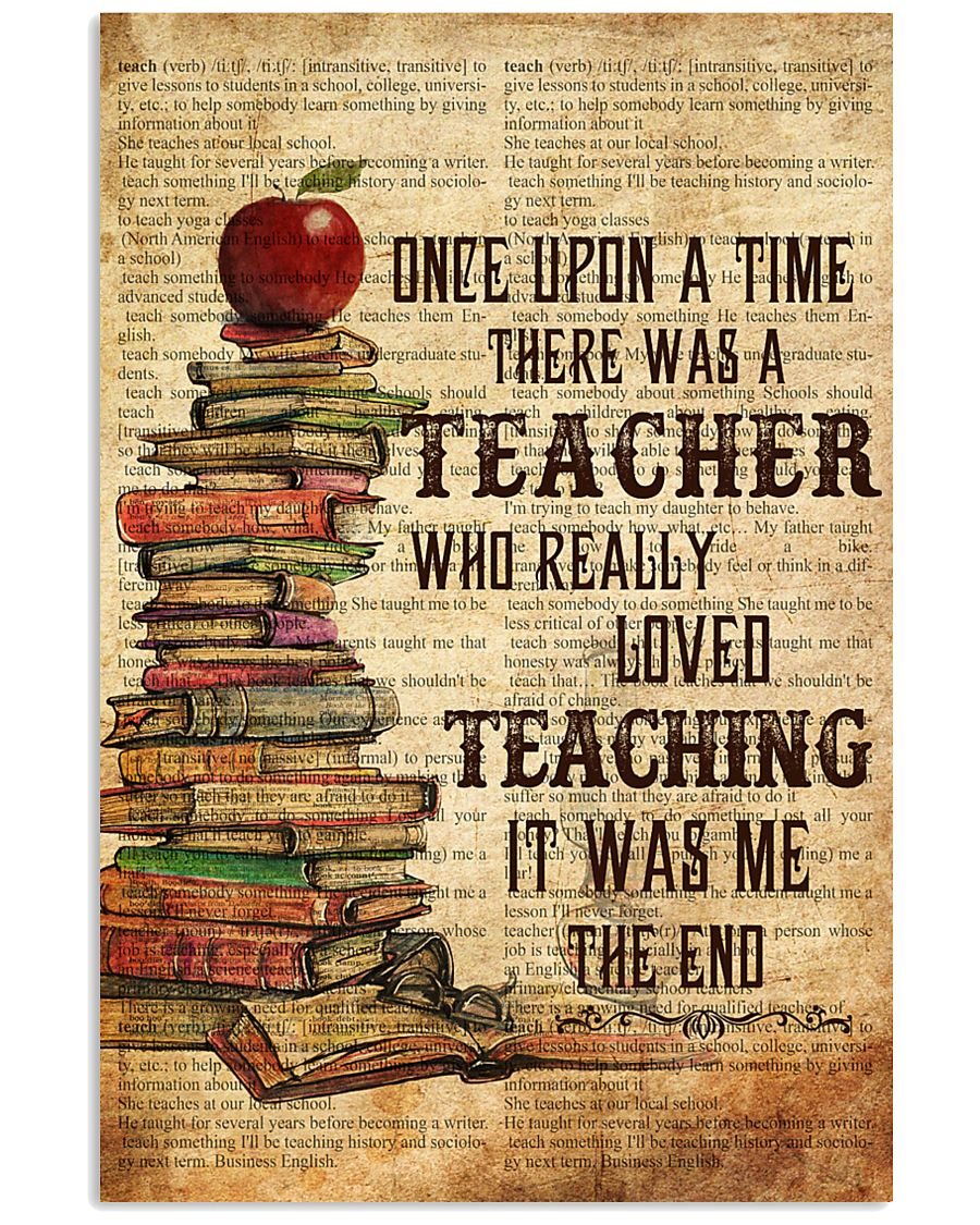 Teacher Once Upon Poster 11x17 Poster
