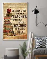 Teacher Once Upon Poster 11x17 Poster lifestyle-poster-1