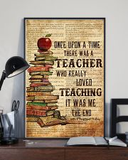 Teacher Once Upon Poster 11x17 Poster lifestyle-poster-2