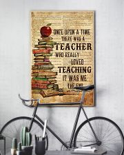 Teacher Once Upon Poster 11x17 Poster lifestyle-poster-7