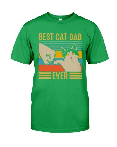 Cat Funny Shirt Best Cat Dad Ever