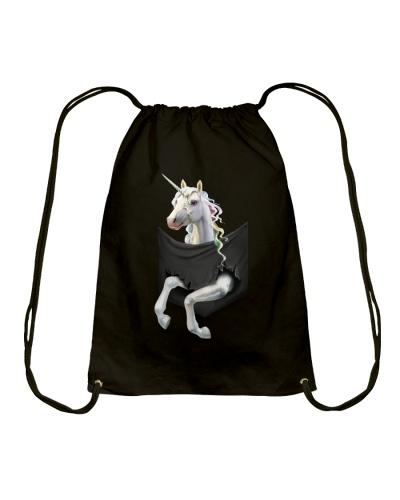 Unicorn Inside Pocket