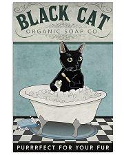Black Cat Organic Soap 11x17 Poster front