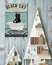 Black Cat Organic Soap 11x17 Poster lifestyle-holiday-poster-2