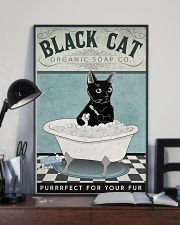 Black Cat Organic Soap 11x17 Poster lifestyle-poster-2