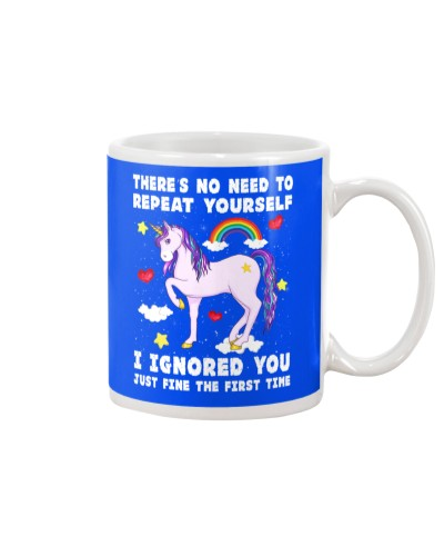 Unicorn There's No Need To Repeat